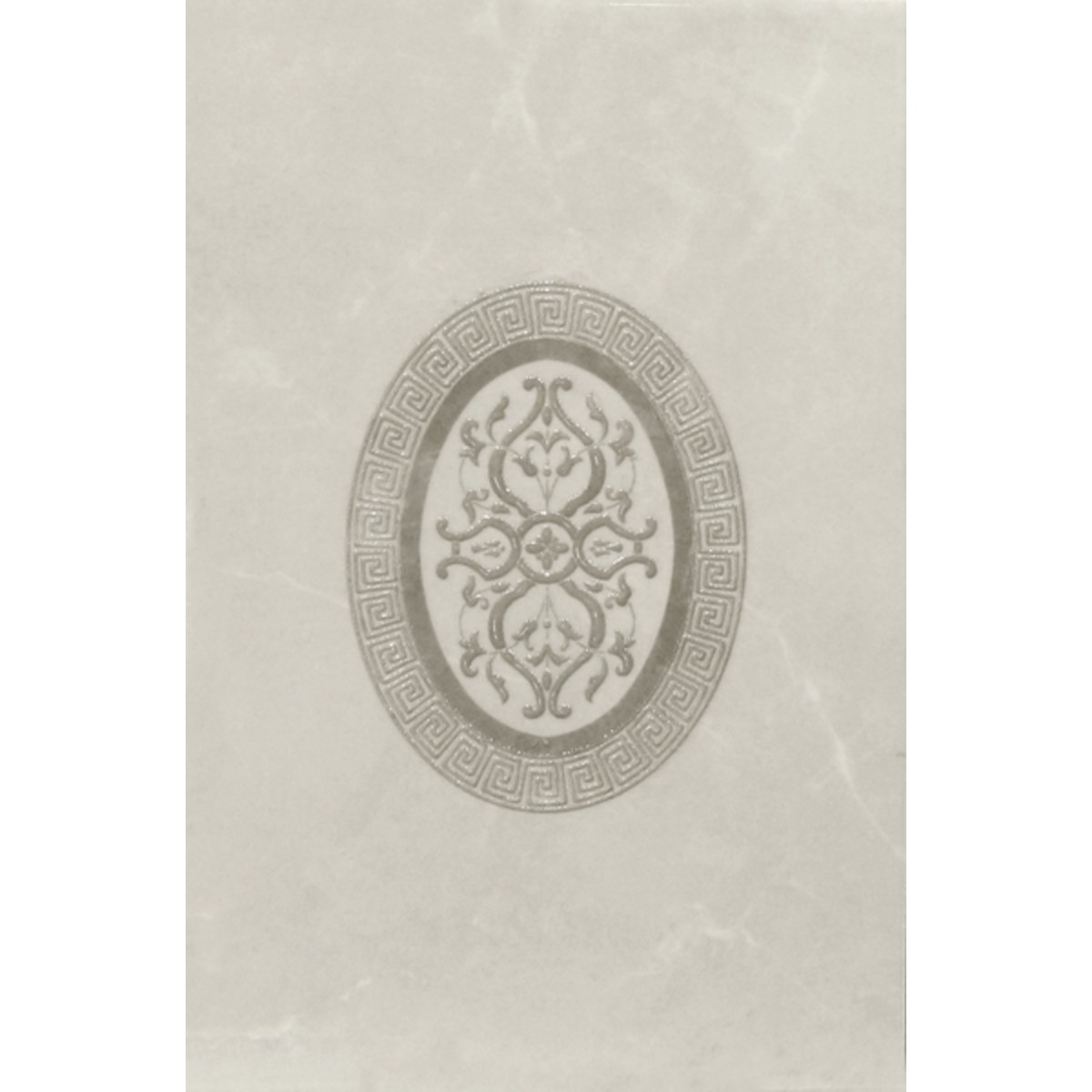 Декор «Дора» 20x30 см цвет бежевый