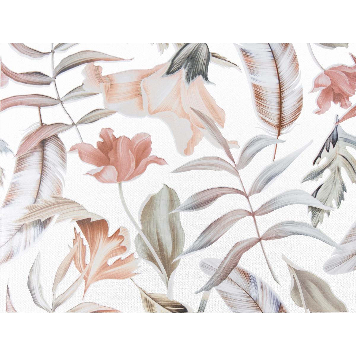Декор «Крайола Цветы» 25x33 см цвет розовый