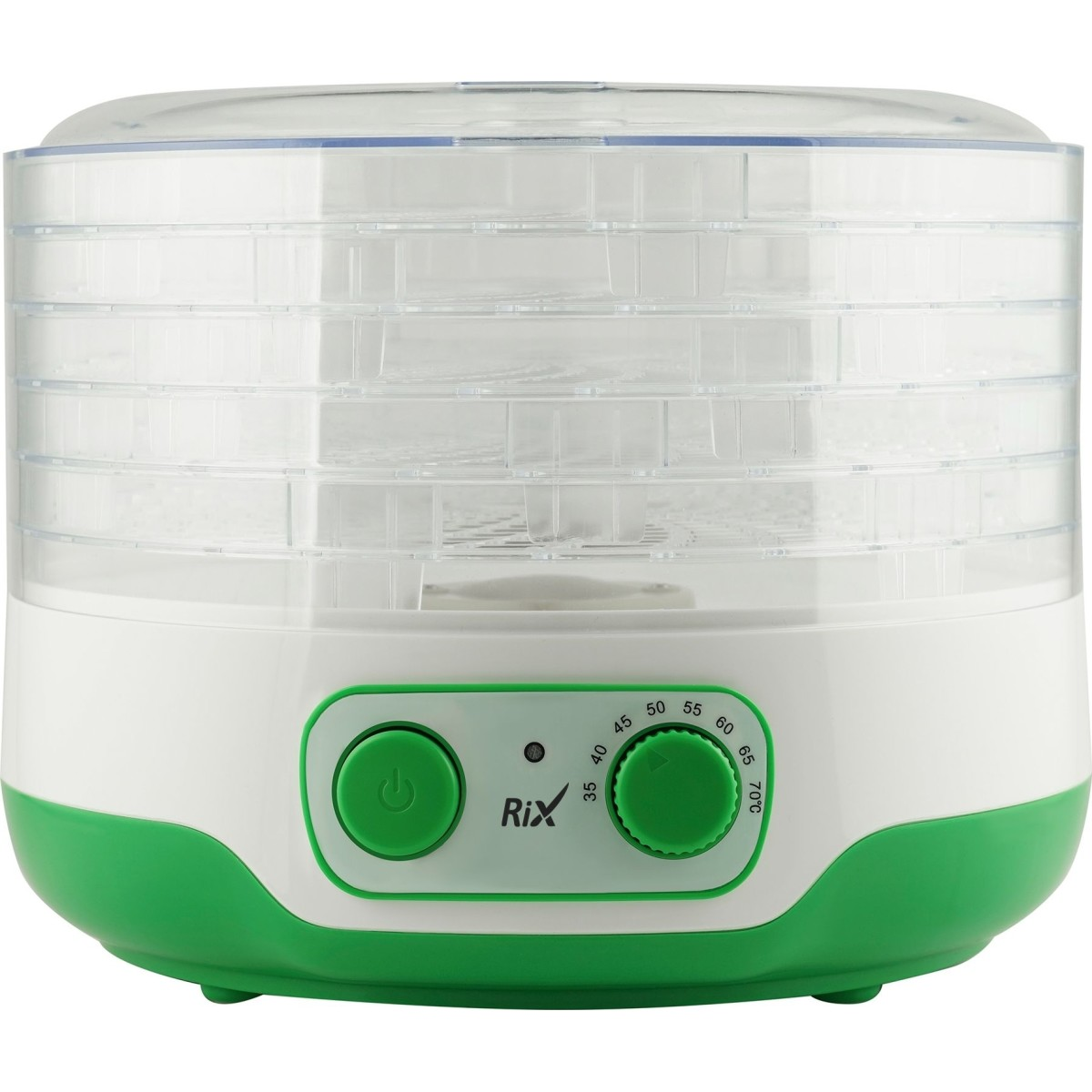 Электросушилка Для Овощей И Фруктов Rix Rxd-127 250 Вт 14 Л Регулировка Высоты