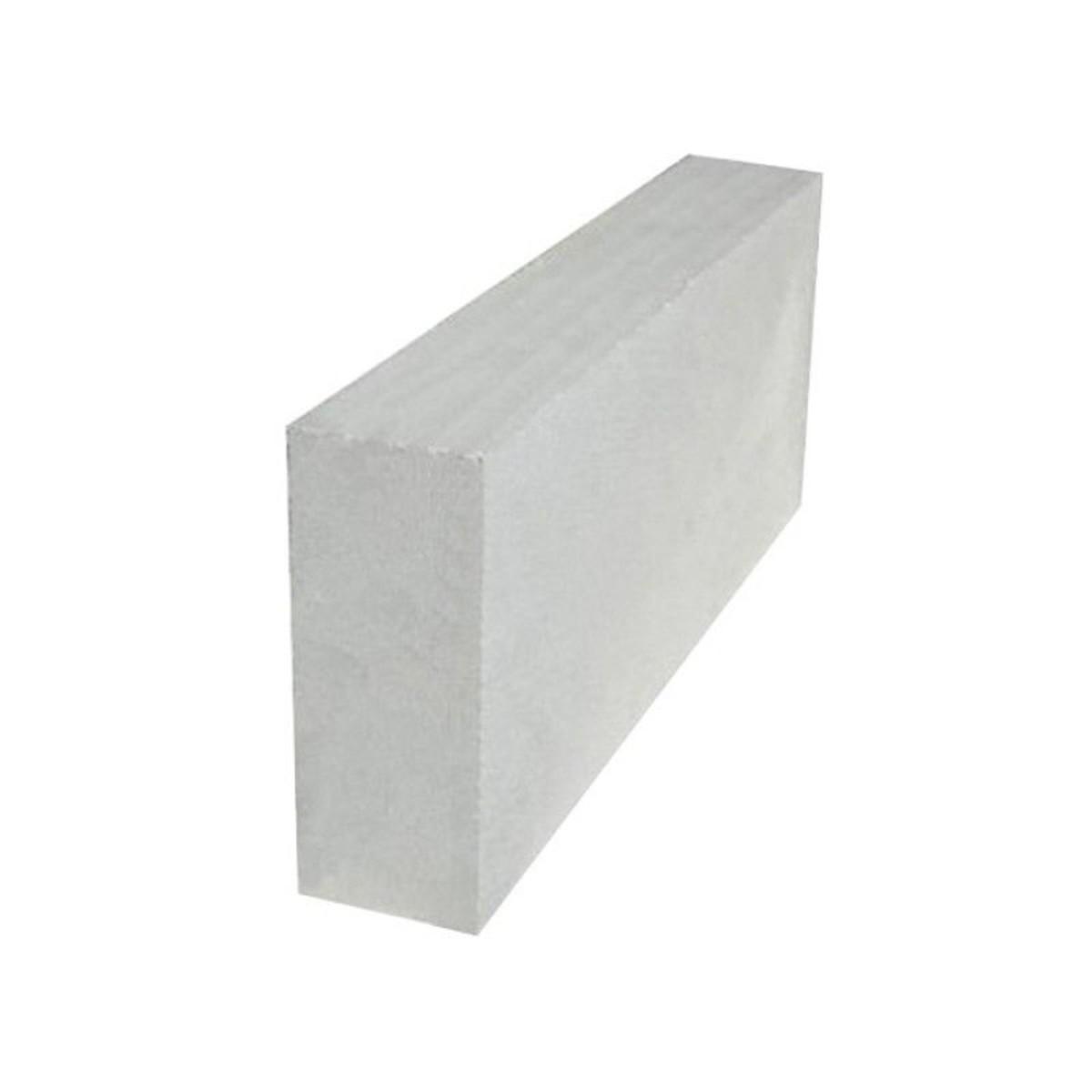 Блок газобетон D500 625х250х100 мм Новоблок