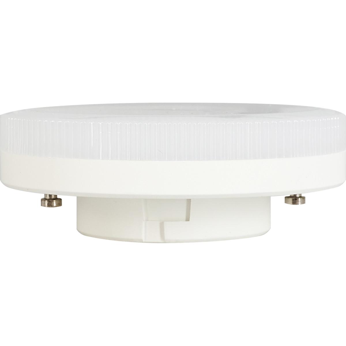Лампа светодиодная Gauss Basic GX53 230 В 12.5 Вт диск 850 лм свет белый