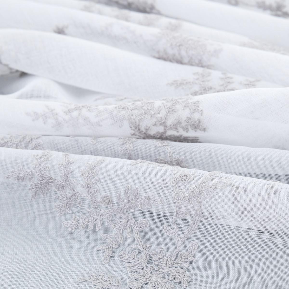 Тюль 1 м/п Карини кристалон 280 см цвет серый