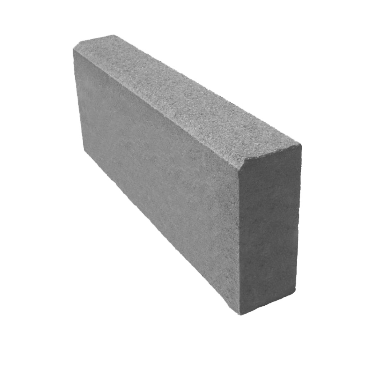 Бордюр тротуарный 500х200х80 мм серый