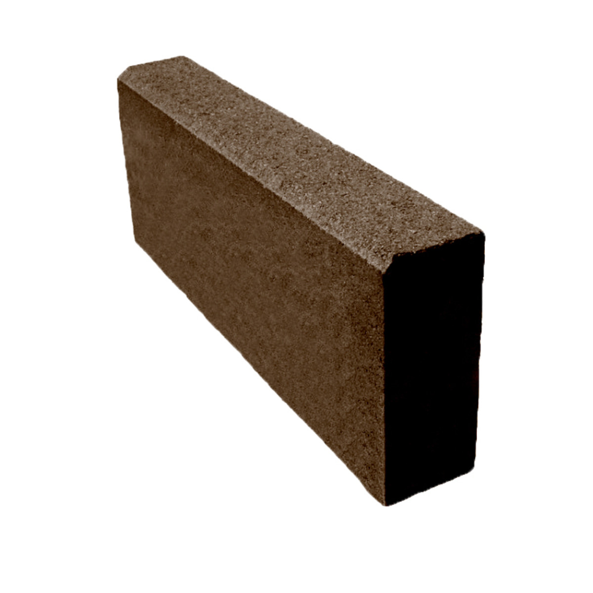 Бордюр тротуарный 500х200х80 мм коричневый