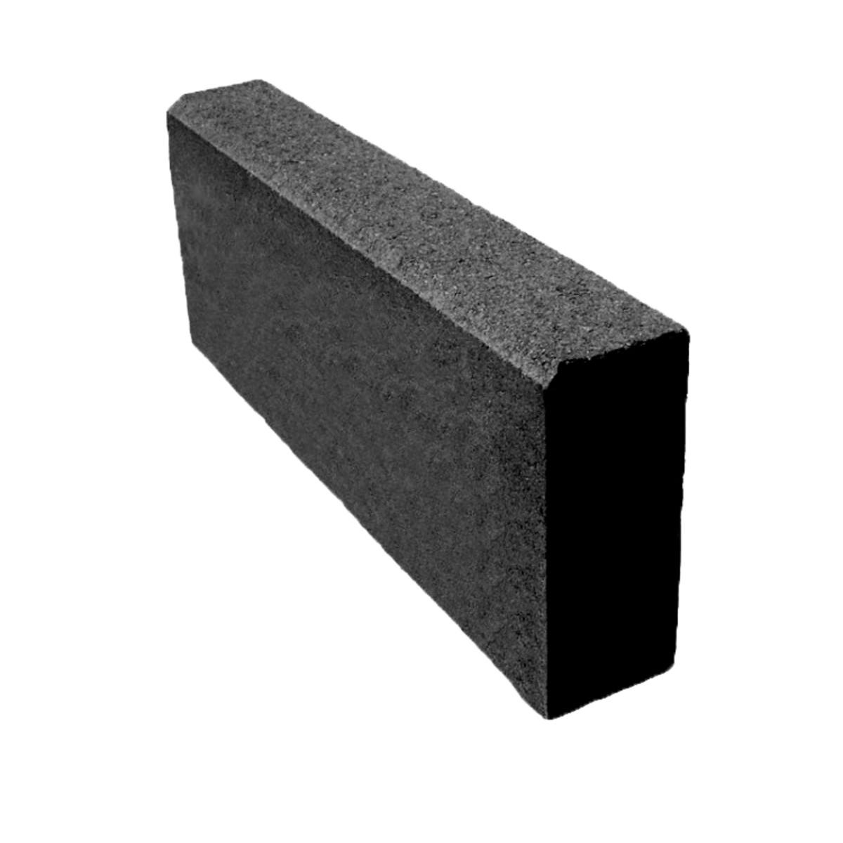 Бордюр тротуарный 500х200х80 мм чёрный