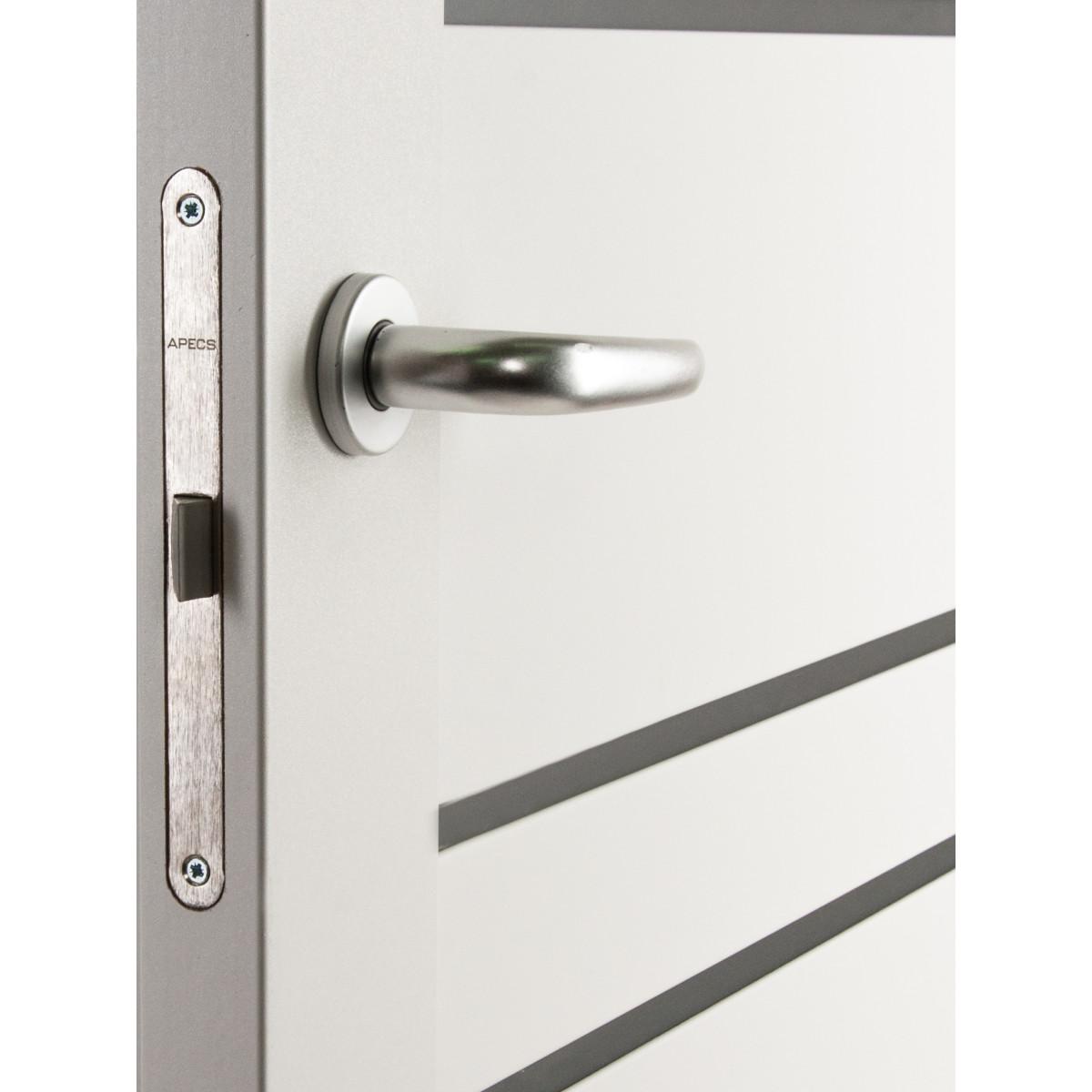 Дверь Межкомнатная Остеклённая С Фурнитурой Парма 70Х200 Hardflex Цвет Белый