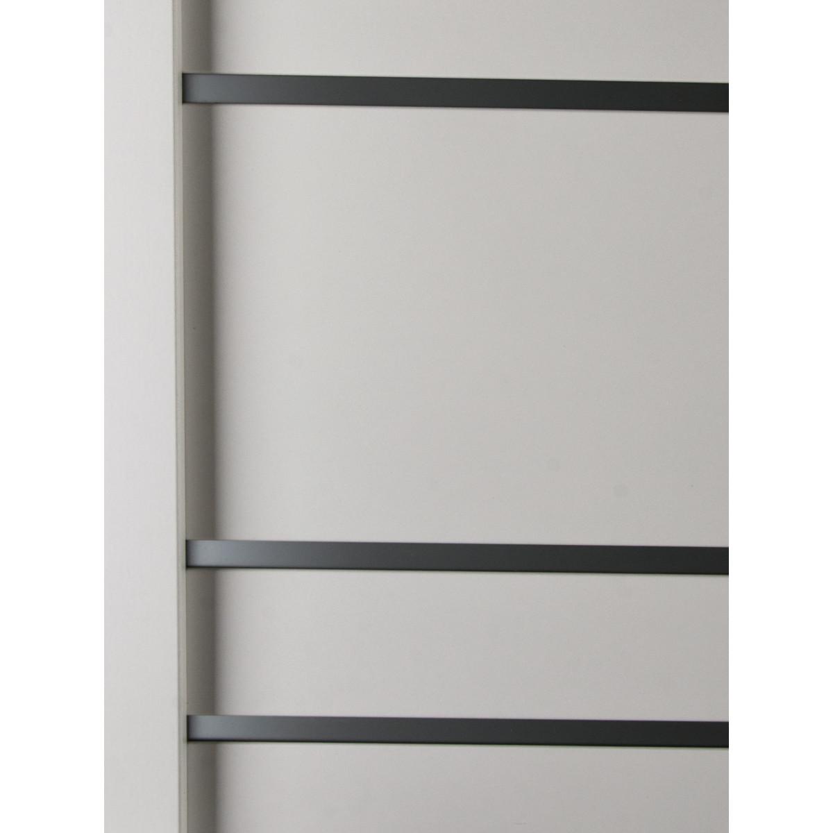 Дверь Межкомнатная Остеклённая С Фурнитурой Парма 80Х200 Hardflex Цвет Белый