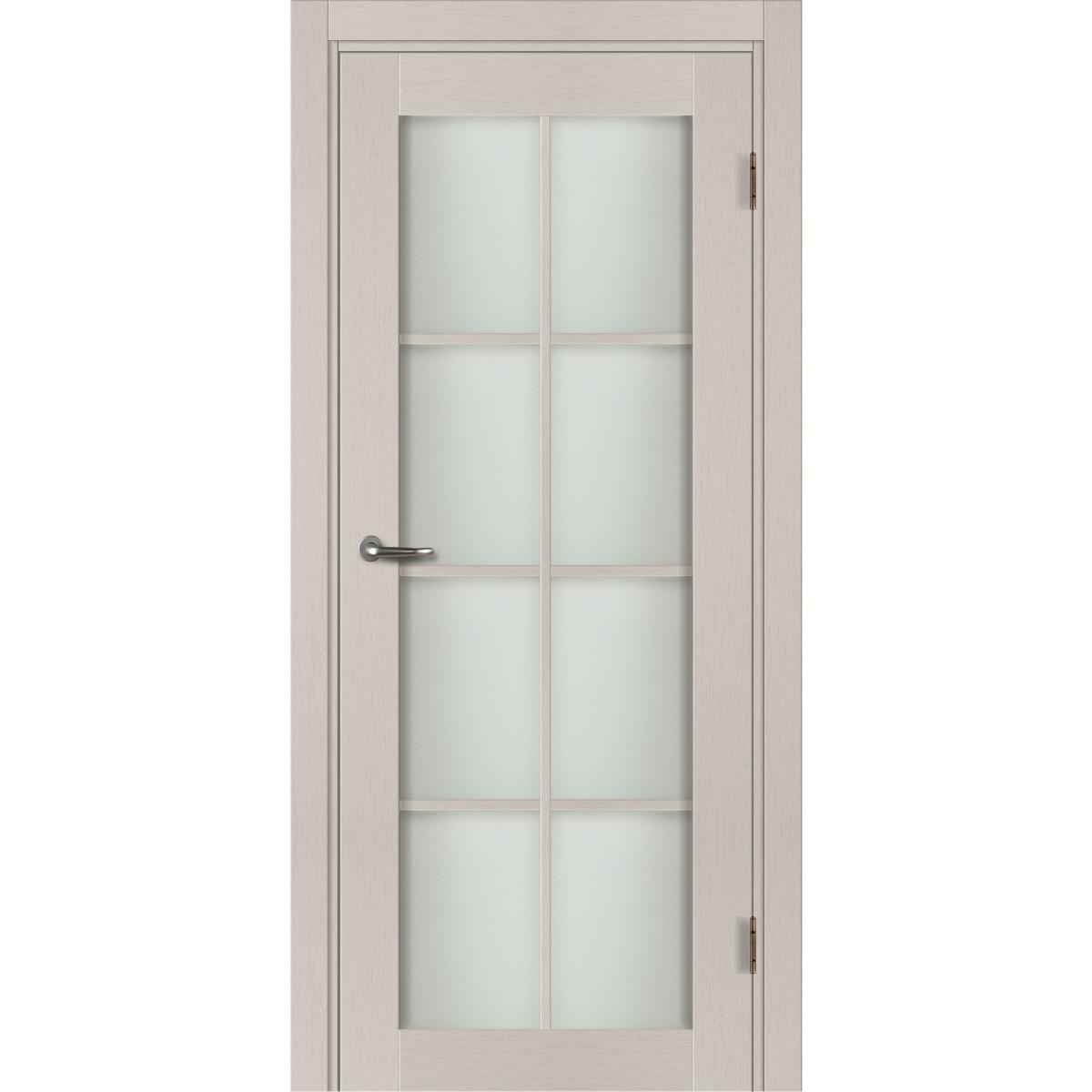 Дверь Межкомнатная Остеклённая С Фурнитурой Пьемонт 70Х200 Hardflex Цвет Платина Светлая