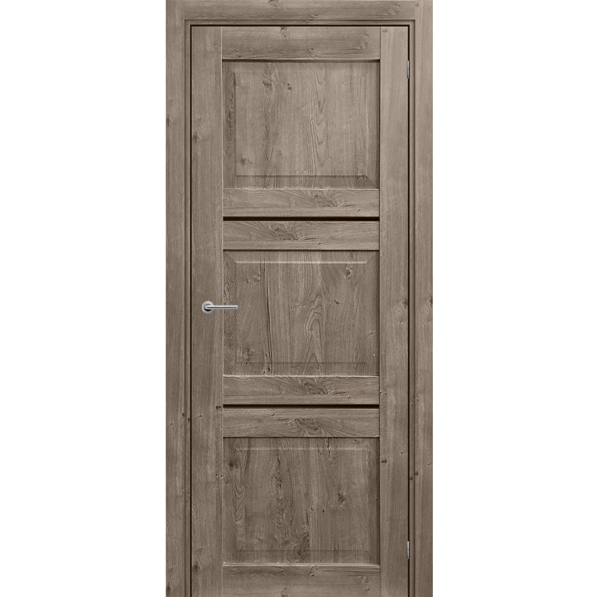 Дверь Межкомнатная Гранде 90Х200 Цвет Берлин Cpl С Фурнитурой