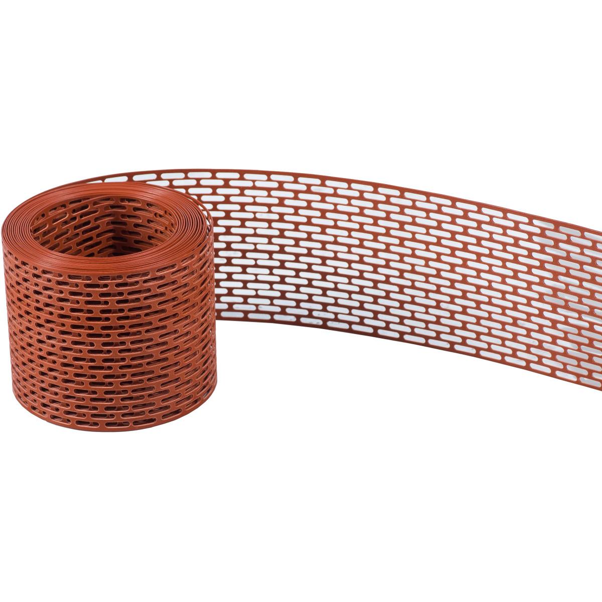 Вентиляционная лента ТЕХНОНИКОЛЬ ПВХ коричневый
