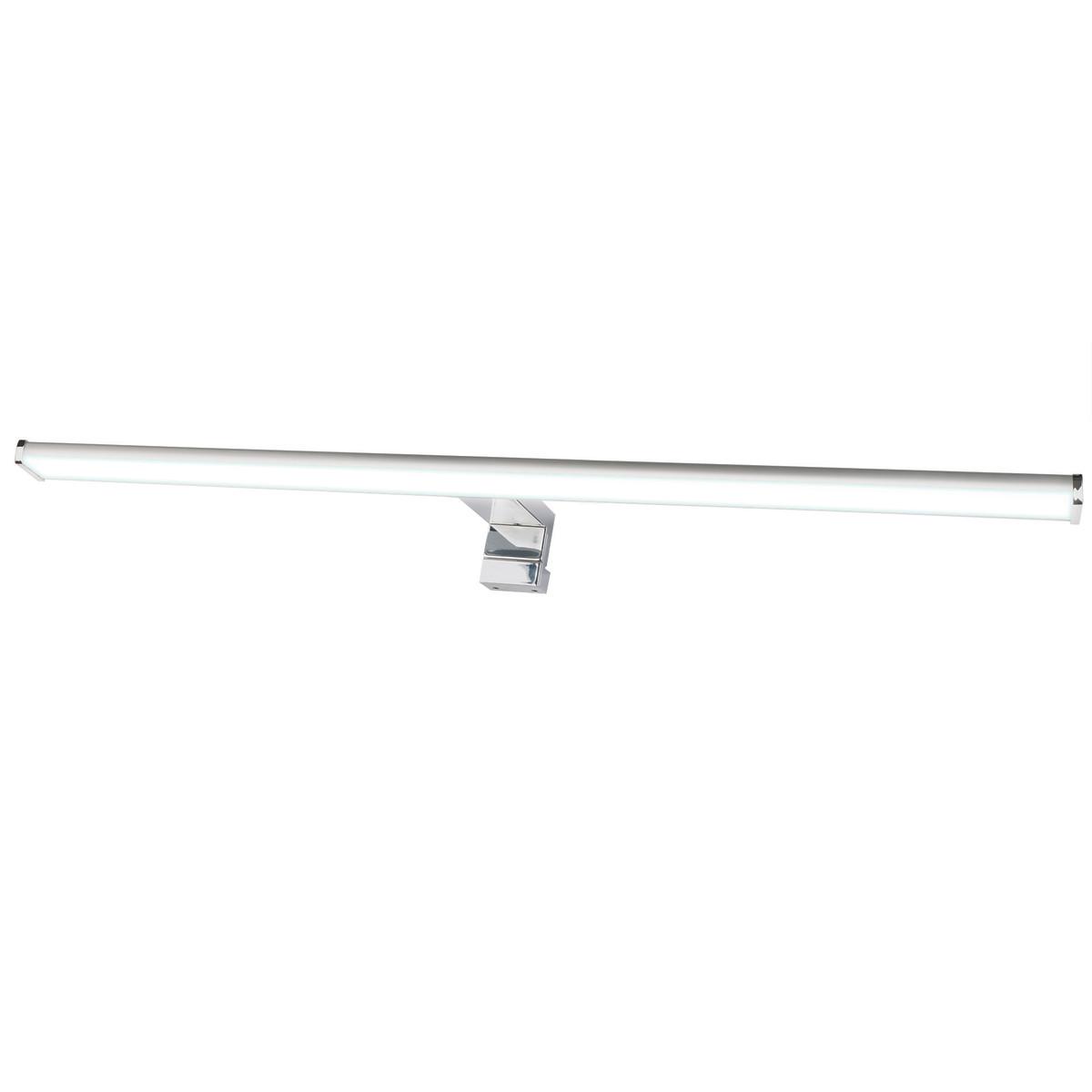 Подсветка светодиодная для зеркала в ванную комнату Uniel IP44 холодный белый свет цвет серебро