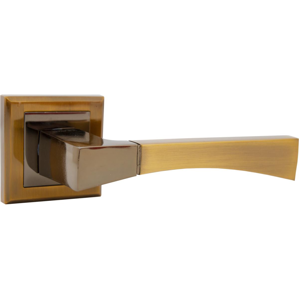 Дверная ручка Edson EDS-67-30 без запирания комплект цвет кофе
