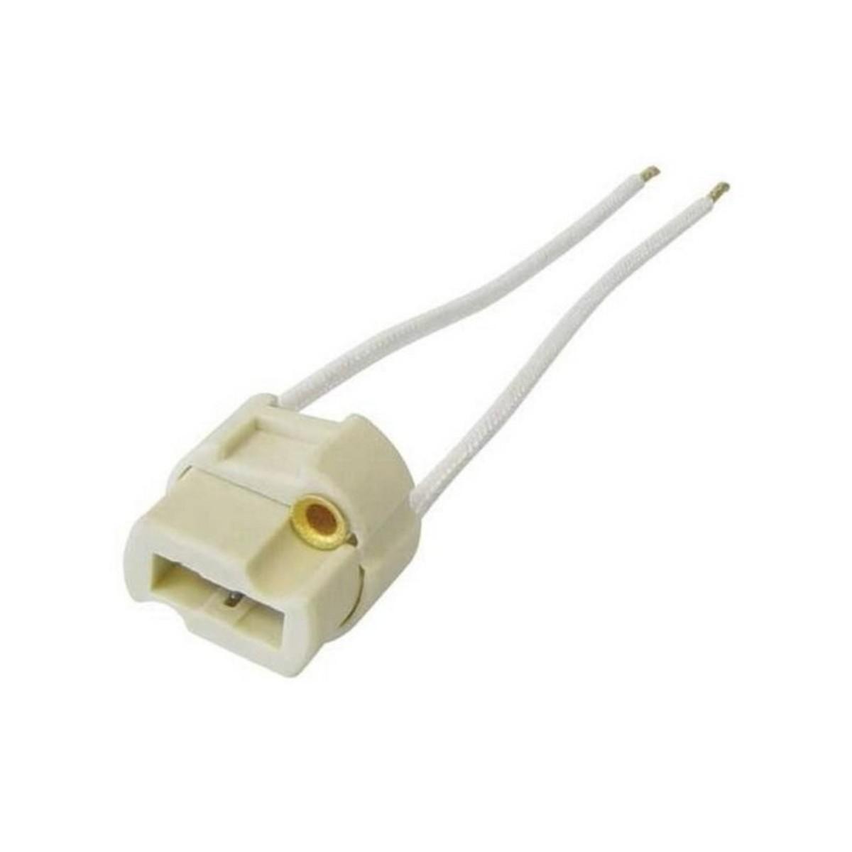 Патрон керамический Uniel для лампы G9 цвет белый