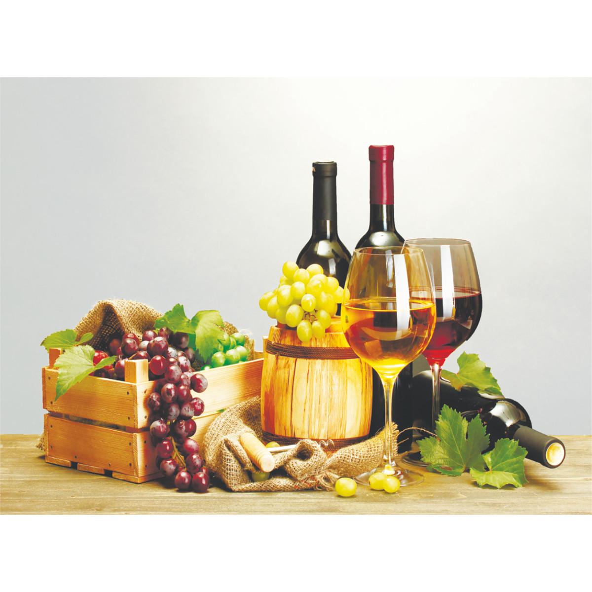 Фотообои Вино бумажные 140x100 см
