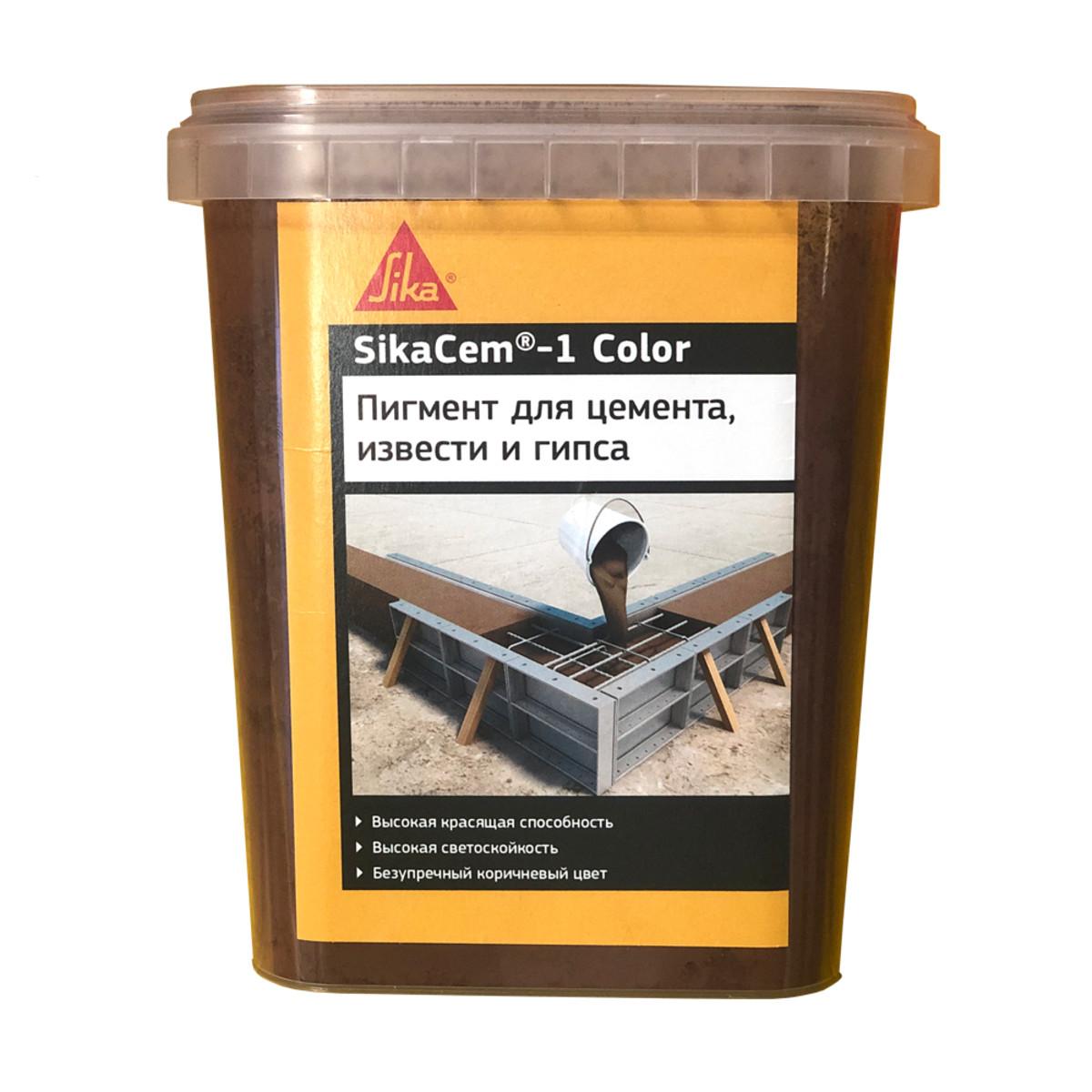 Краситель SikaCem-1 Color коричневый 1 кг