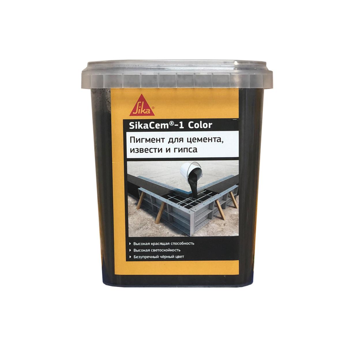Краситель SikaCem-1 Color 1 кг черный