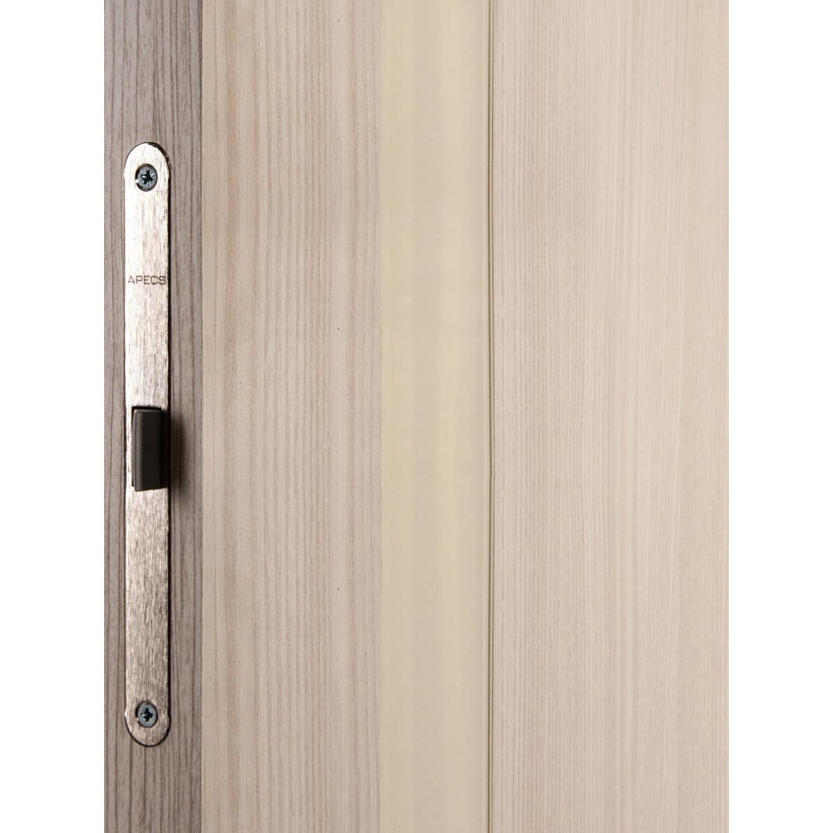 Дверь Межкомнатная Глухая С Замком И Петлями В Комплекте Мирра 60x200 Hardflex Цвет Ясень Бора