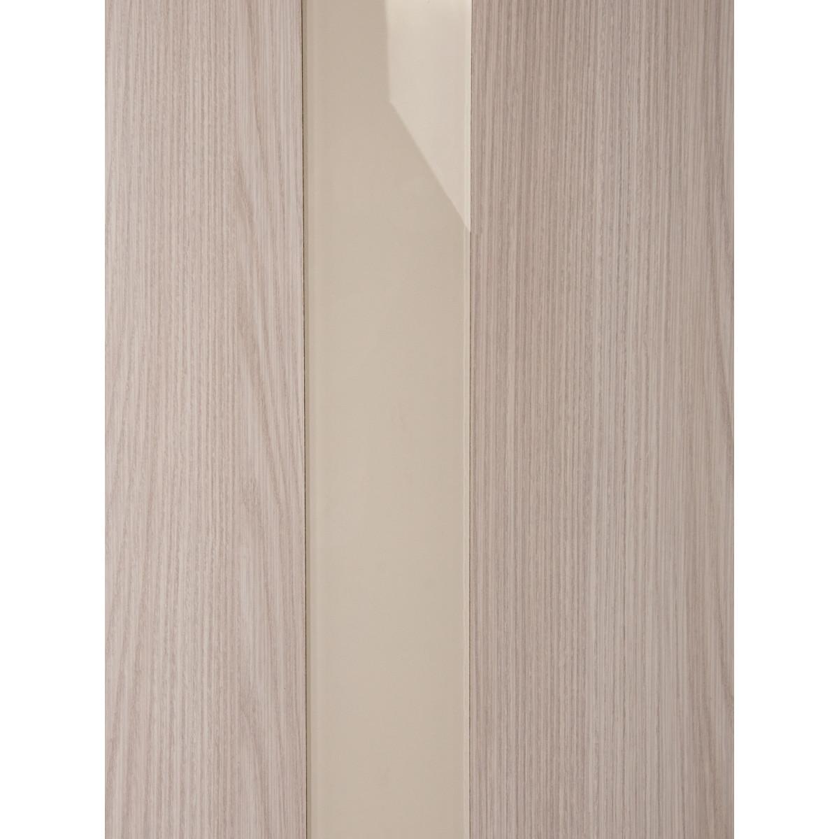 Дверь Межкомнатная Глухая С Замком И Петлями В Комплекте Мирра 80x200 Hardflex Цвет Ясень Бора