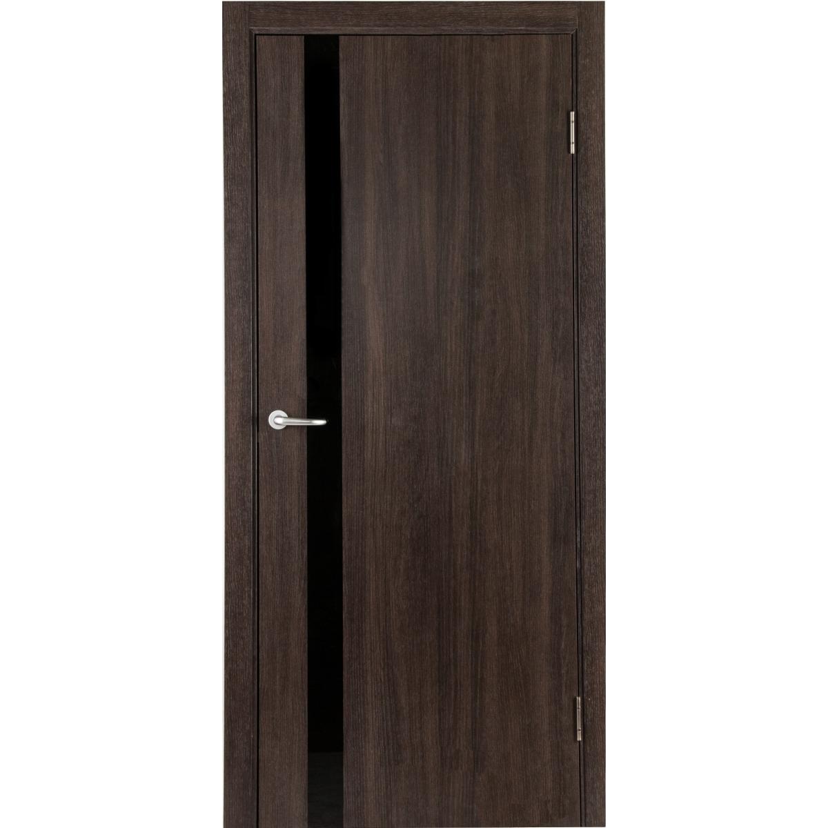 Дверь Межкомнатная Глухая С Замком И Петлями В Комплекте Мирра 60x200 Hardflex Цвет Дуб Кастелло