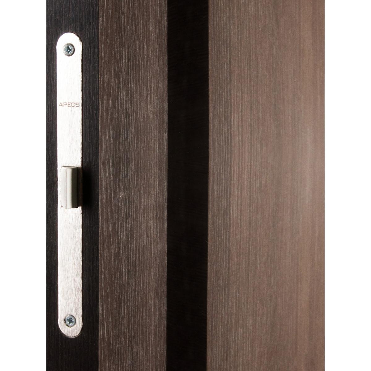 Дверь Межкомнатная Глухая С Замком И Петлями В Комплекте Мирра 70x200 Hardflex Цвет Дуб Кастелло