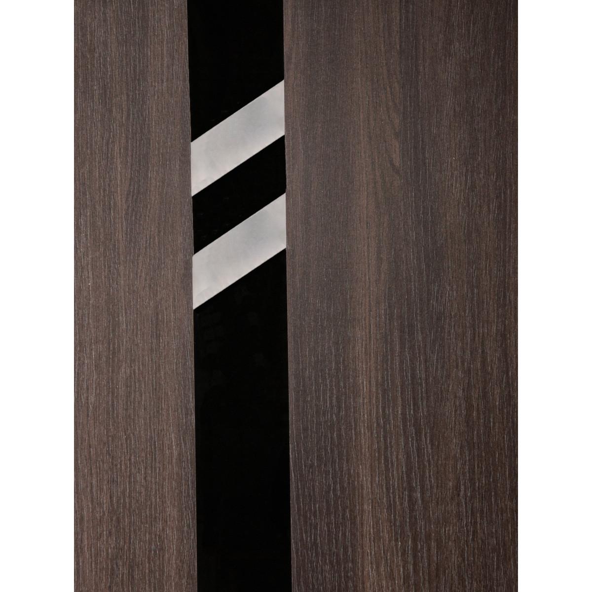 Дверь Межкомнатная Глухая С Замком И Петлями В Комплекте Мирра 80x200 Hardflex Цвет Дуб Кастелло