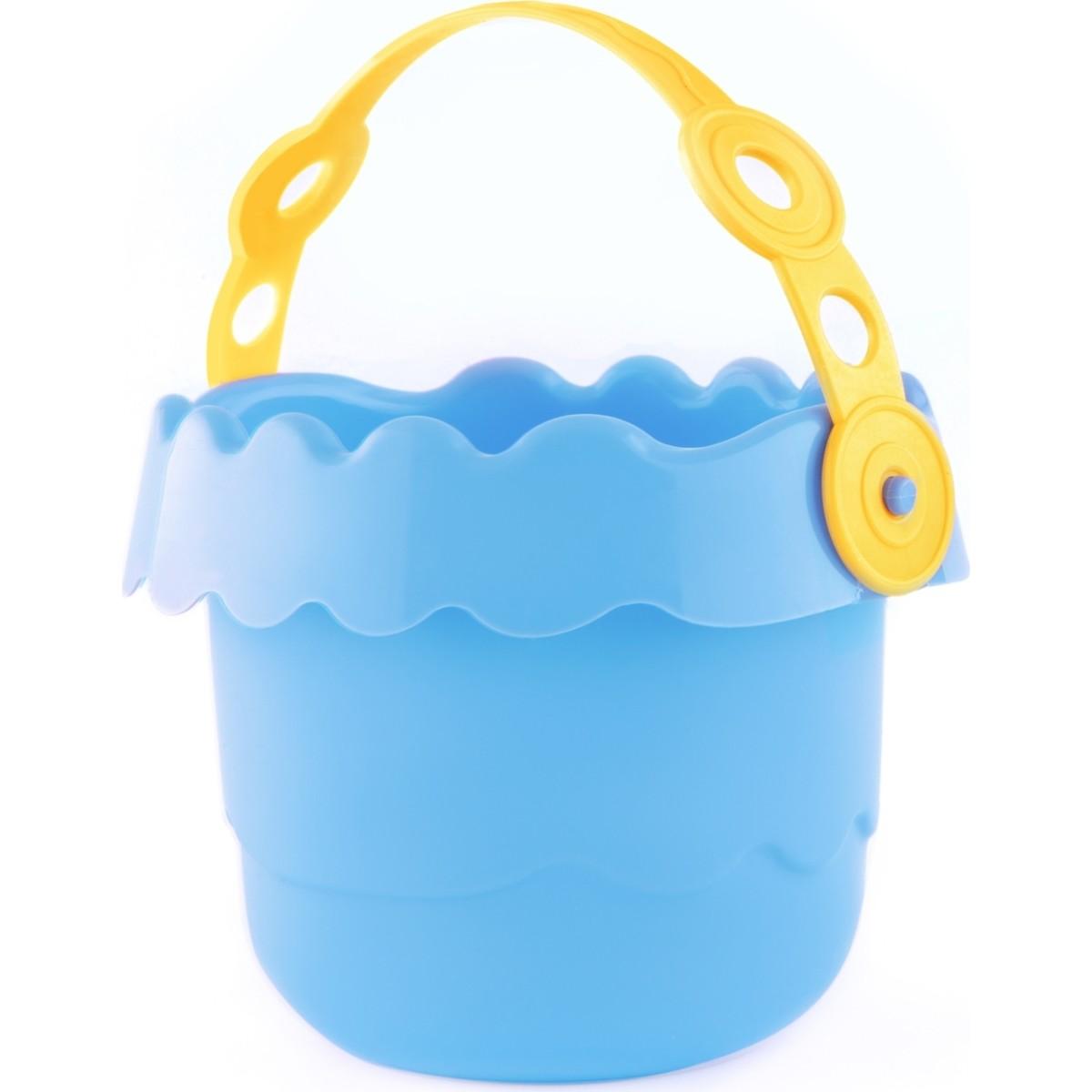 Ведерко детское Волна 0.7 л цвет голубой