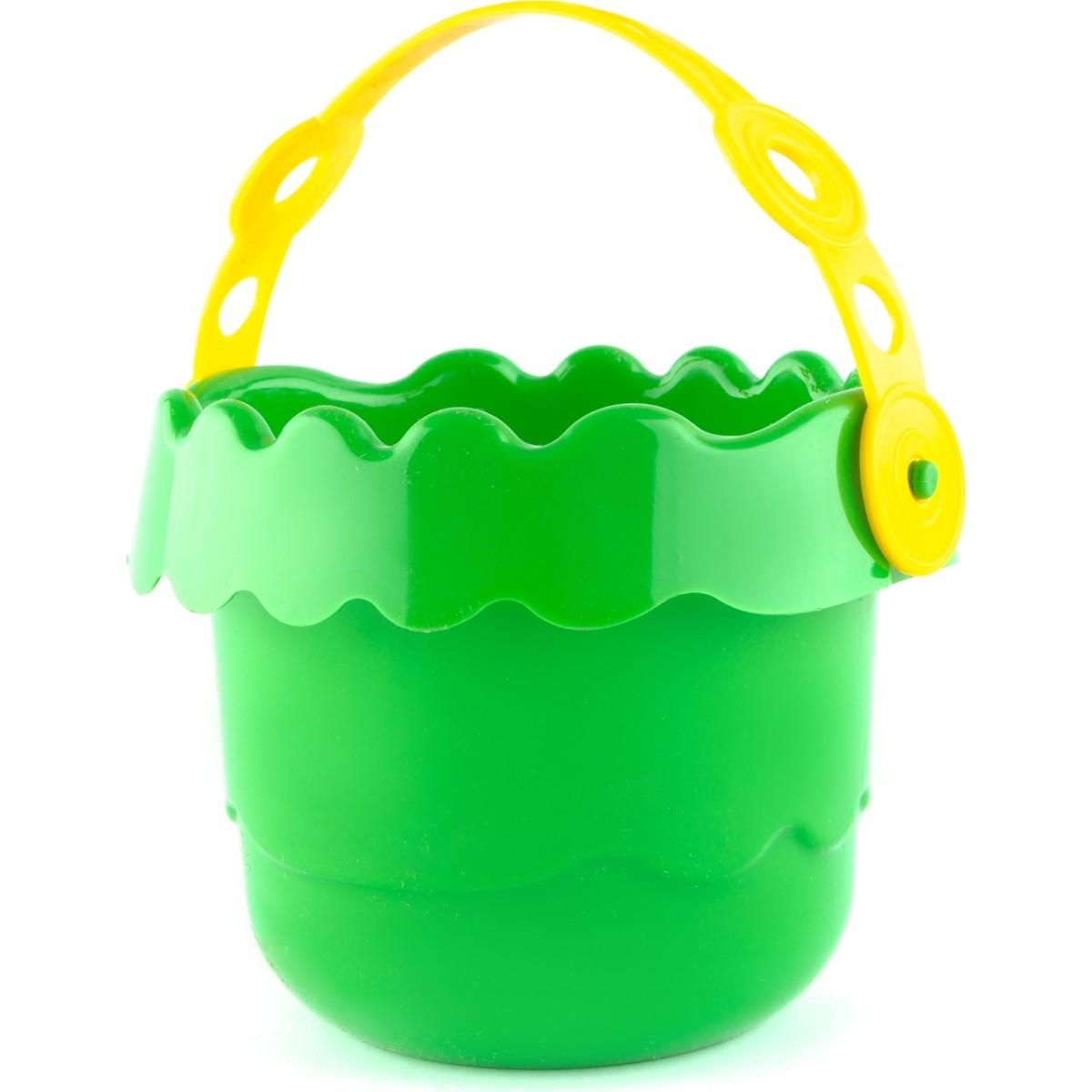 Ведерко детское Волна 0.7 л цвет зеленый