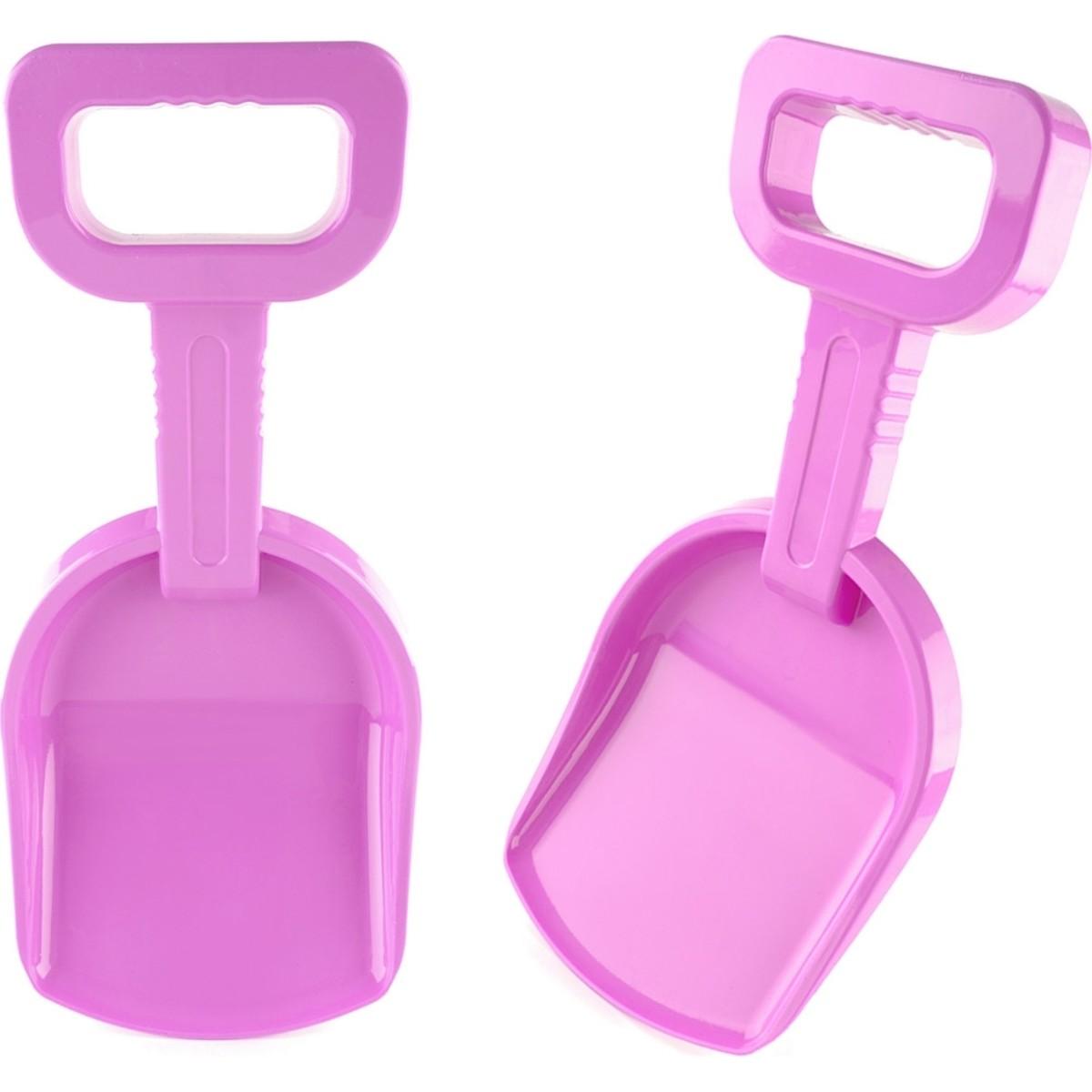 Лопатка детская 37 см цвет розовый