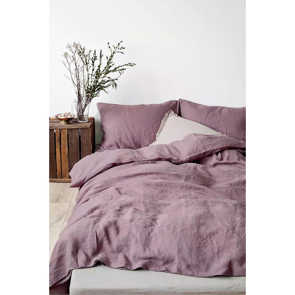 Комплект Постельного Белья Rustic Berry Полутораспальный Полисатин Фиолетовый