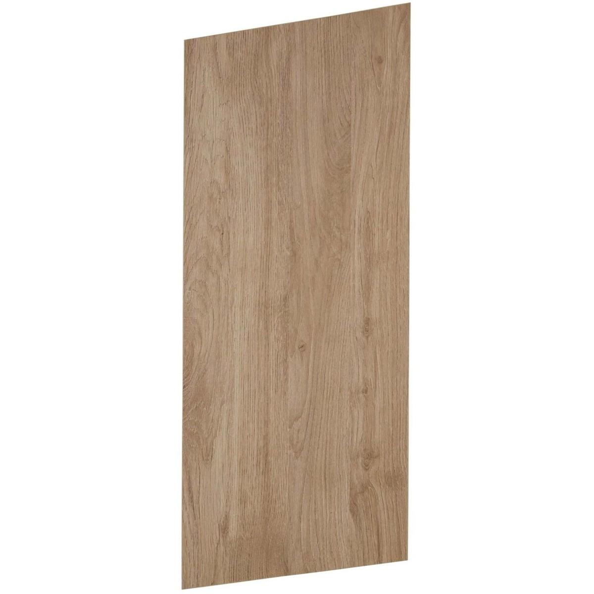 Дверь для шкафа Delinia ID &#34Сантьяго&#34 76.5х29.7 см ЛДСП цвет серый