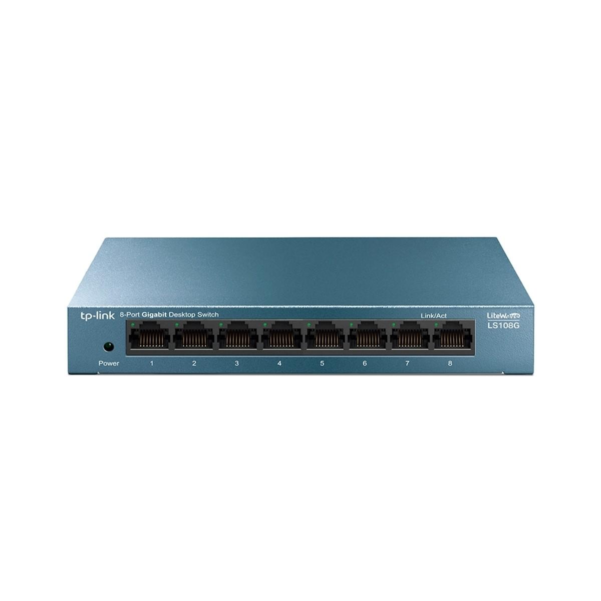 Коммутатор TP-Link LS108G 1000 Мбит/с