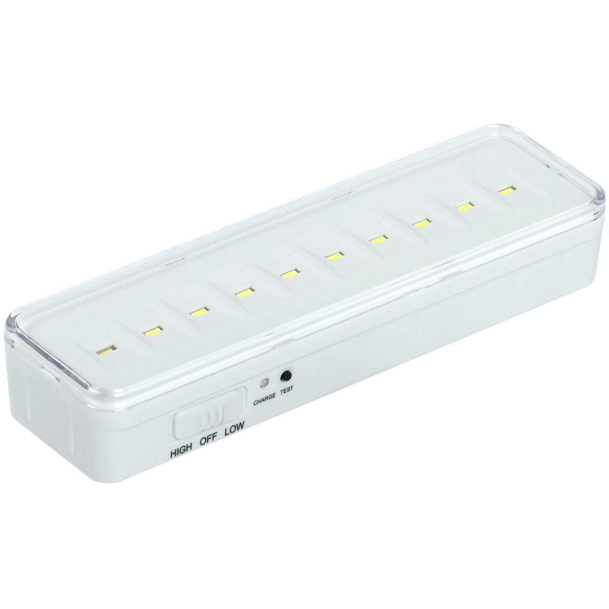 Светильник ЖКХ светодиодный аккумуляторный IEK ДБА 3925 1.5 Вт IP20 накладной прямоугольник цвет белый