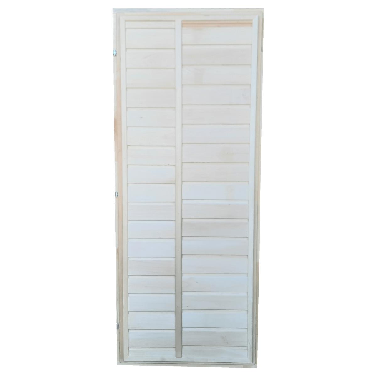 Блок дверной глухой 62х700х1700 мм липа цвет бежевый