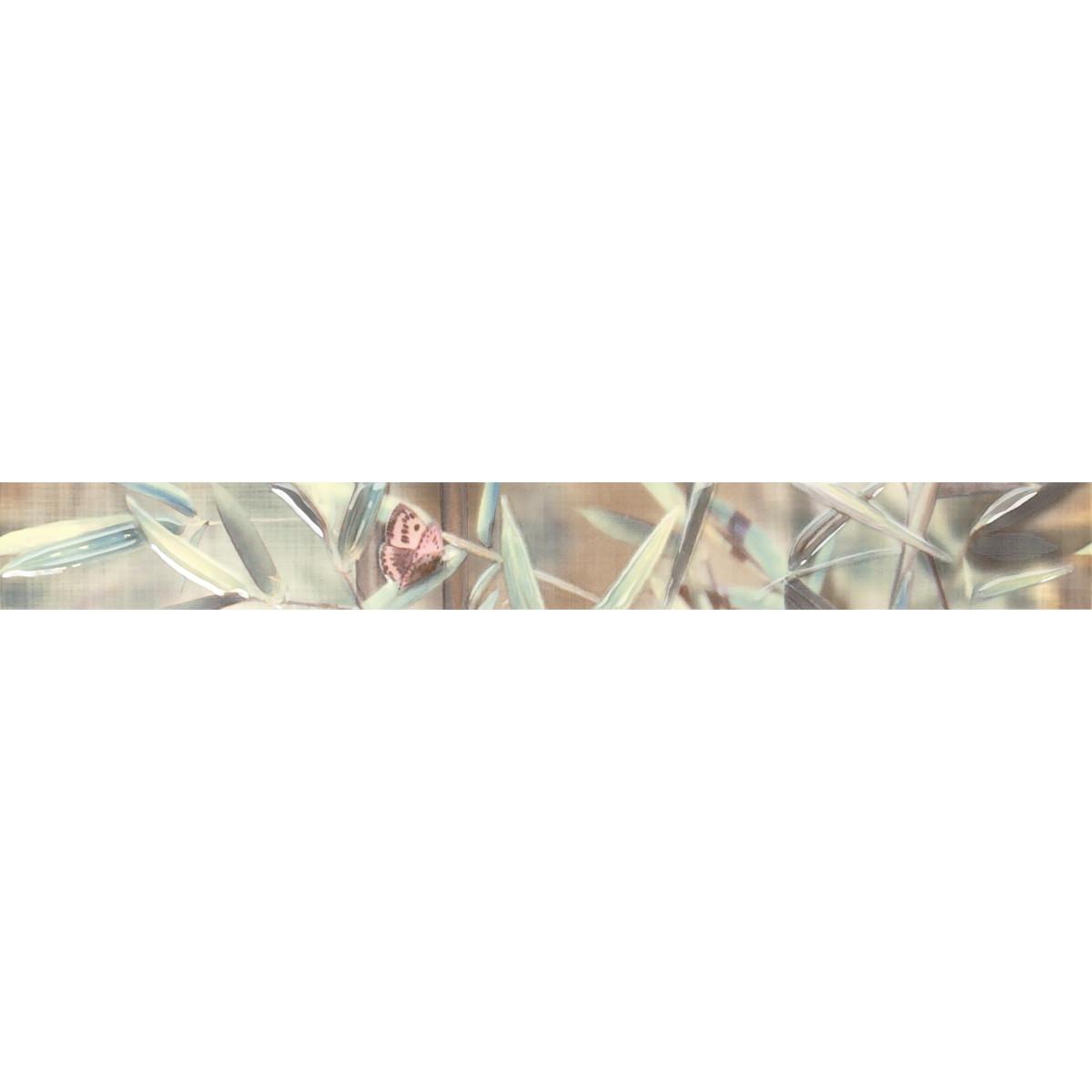 Бордюр «Бамбу» 4.6х40 см цвет салатовый