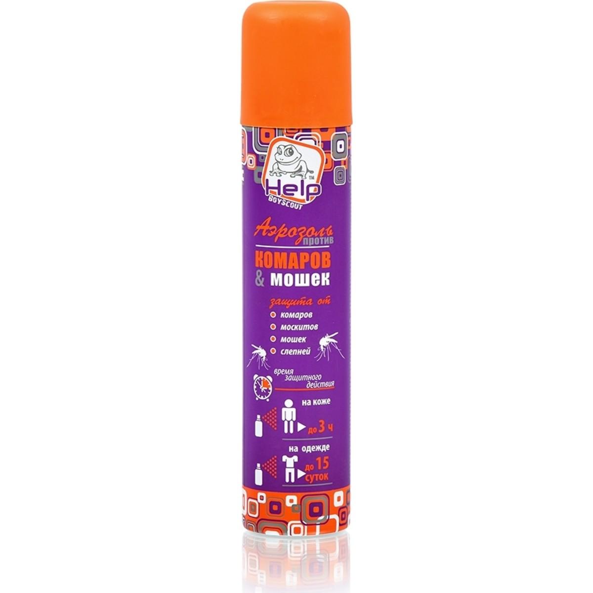 Аэрозоль Boyscout Help от комаров и мошек 200 мл