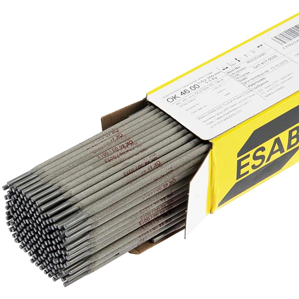 Электроды Esab Оk 46 2.5х350 мм 5.3 кг