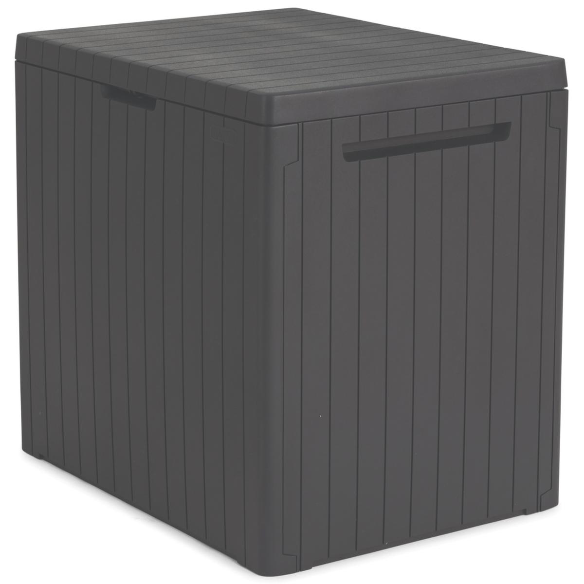 Садовый ящик Keter City Box 113 л графит