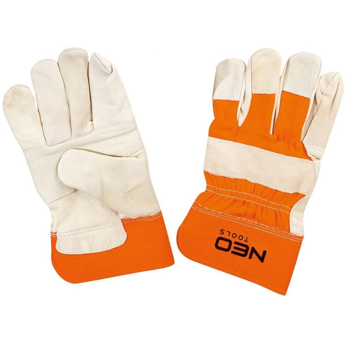 Перчатки рабочие спилковые Neo  размер 10.5