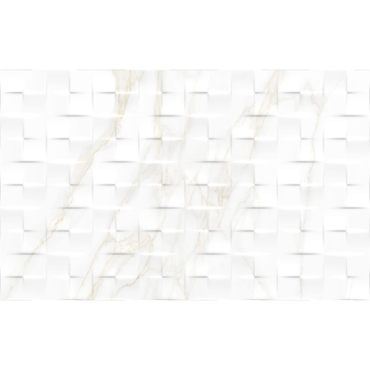 Плитка настенная Alessandro рельефная 25х40 см 1.6 м² цвет бежевый