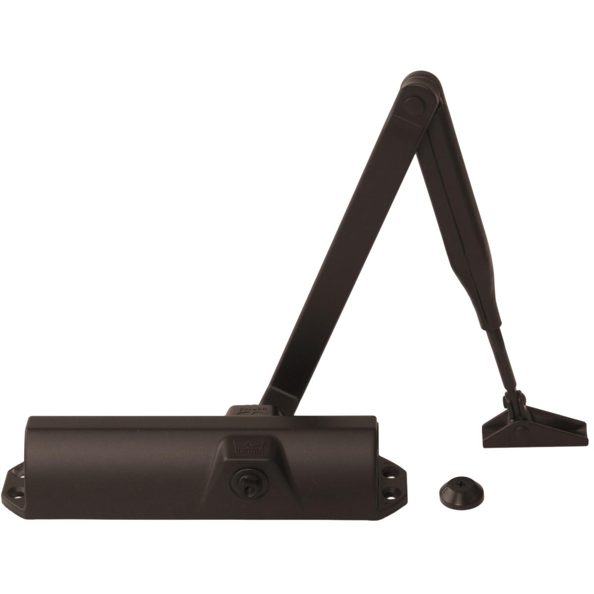 Доводчик дверной Dorma TS-68 EN2/3/4 до 80 кг алюминий цвет коричневый