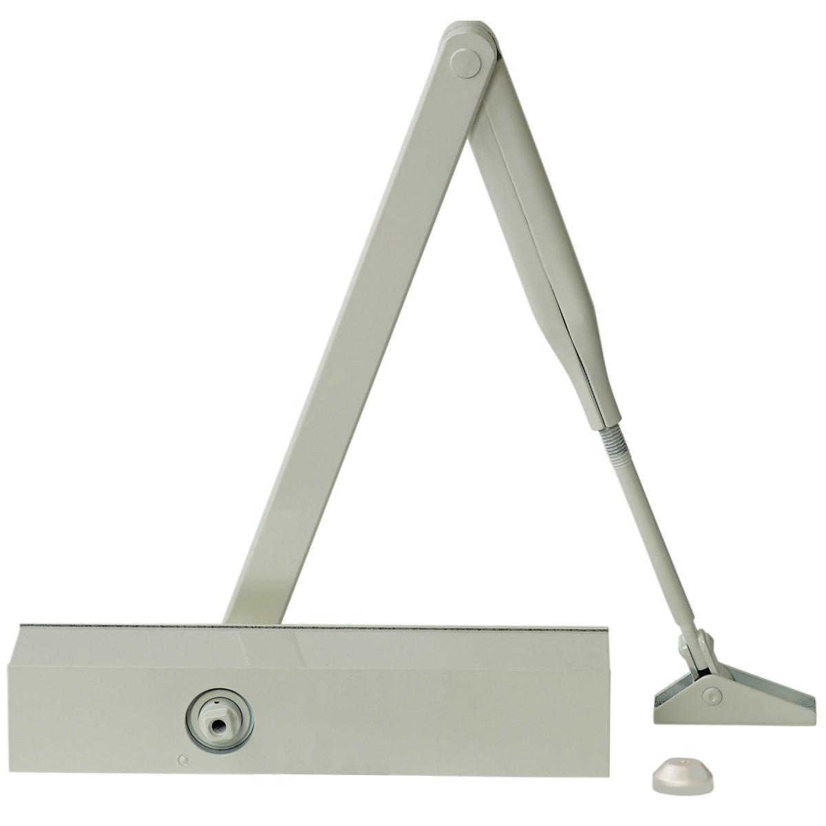 Доводчик дверной Dorma TS Profil до 100 кг алюминий цвет белый