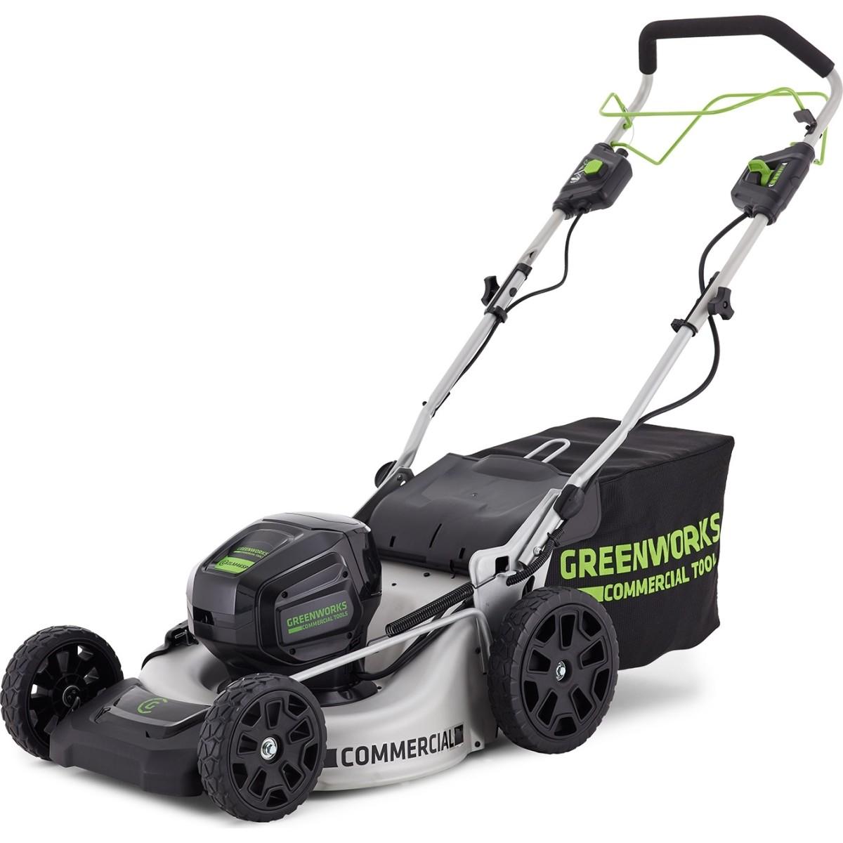 Газонокосилка аккумуляторная Greenworks GC82LM51K5 82 В 51 см 5 Ач