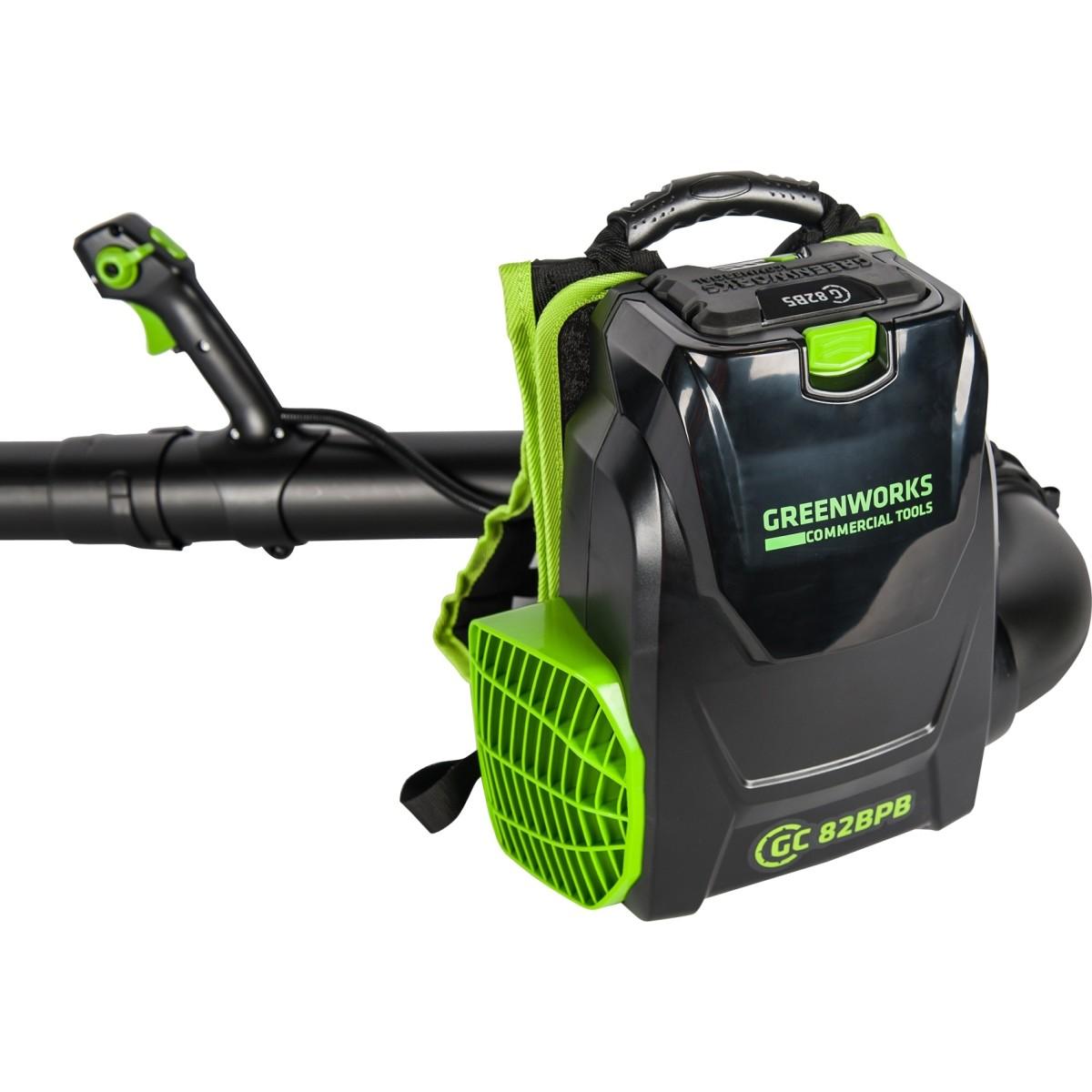 Воздуходувка аккумуляторная Greenworks 2402507UB 82 Вт