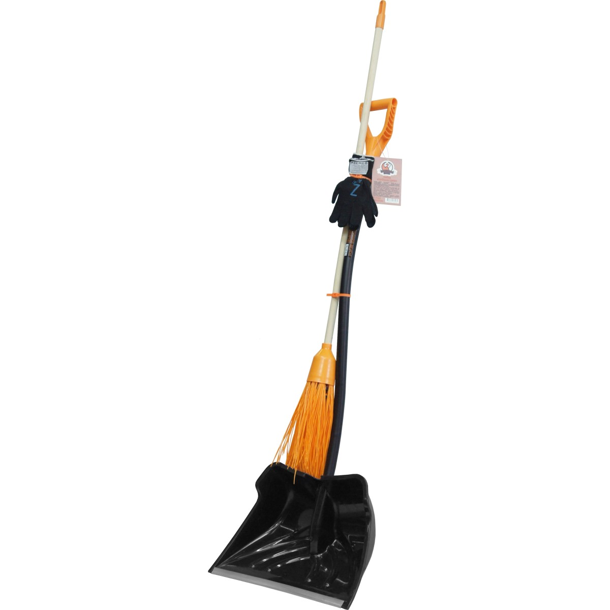 Набор для уборки снега лопата метла и перчатки № 11