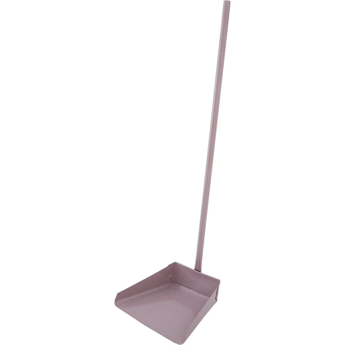 Совок xозяйственный металлический с верткальной ручкой