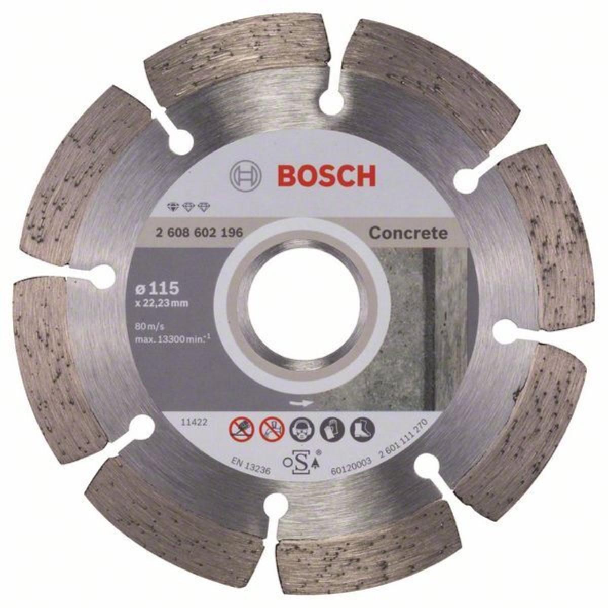 Диск Алмазный По Бетону Bosch Standart 115x2223