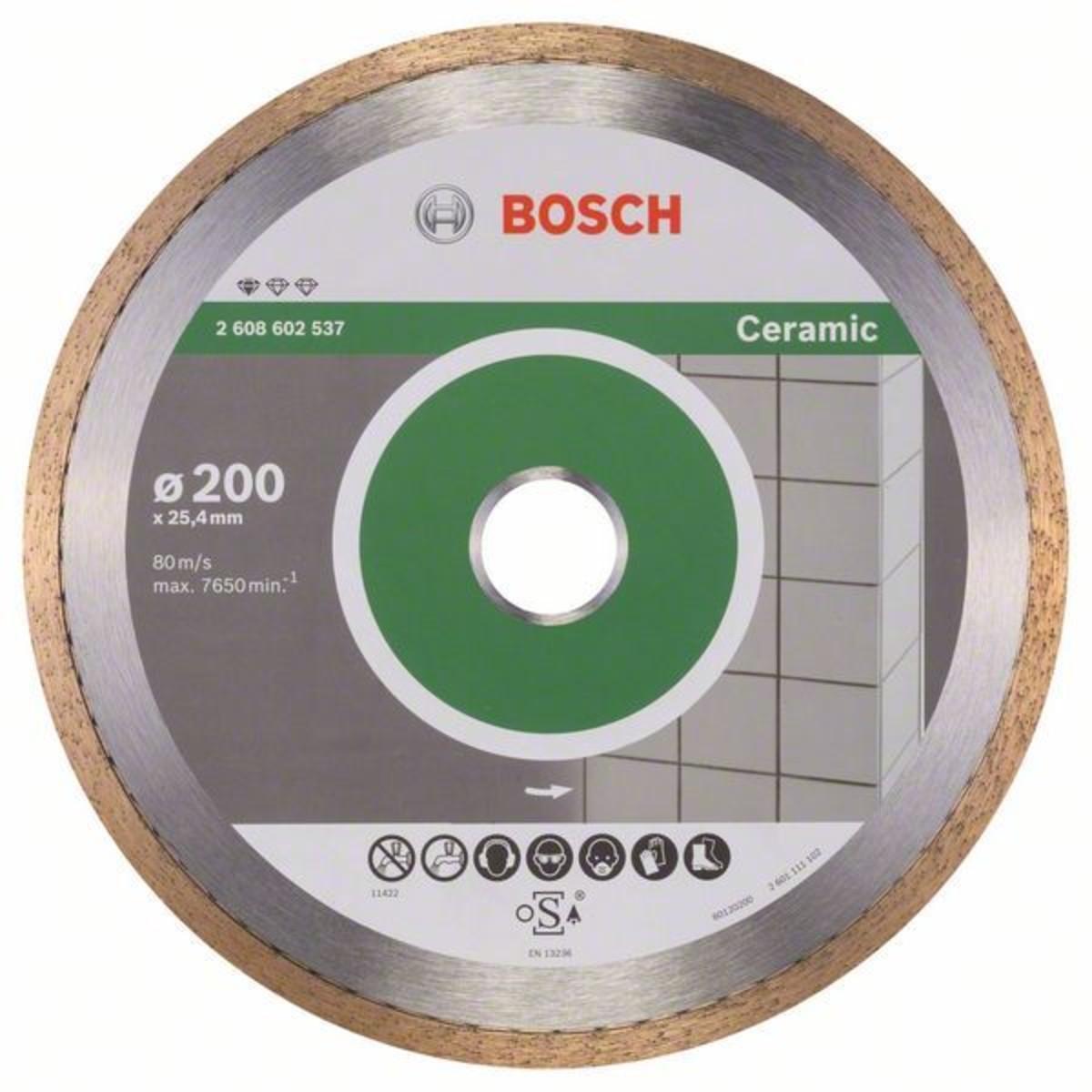 Диск Алмазный По Керамике Bosch Standart 200x2223
