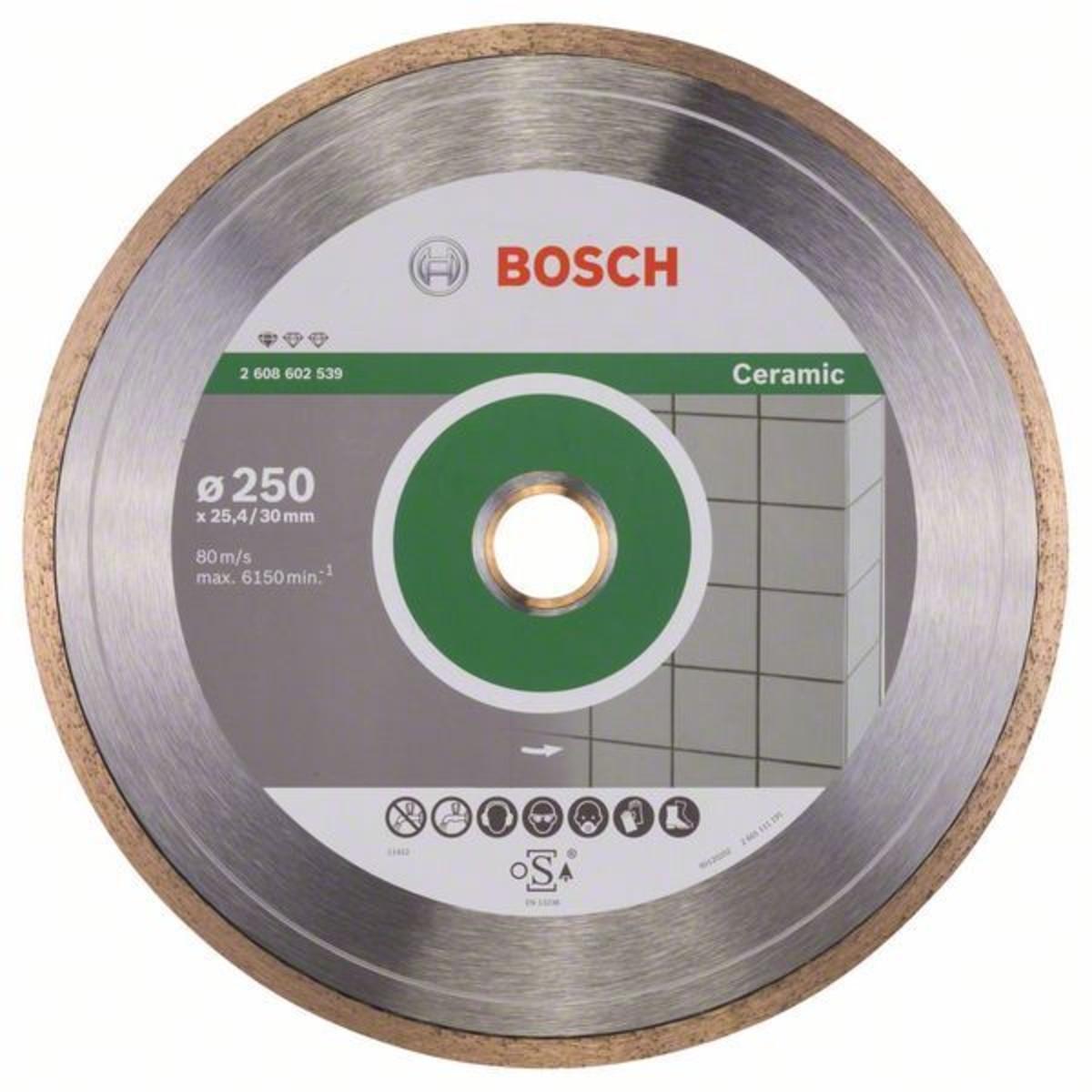 Диск Алмазный По Керамике Bosch Standart 250x254