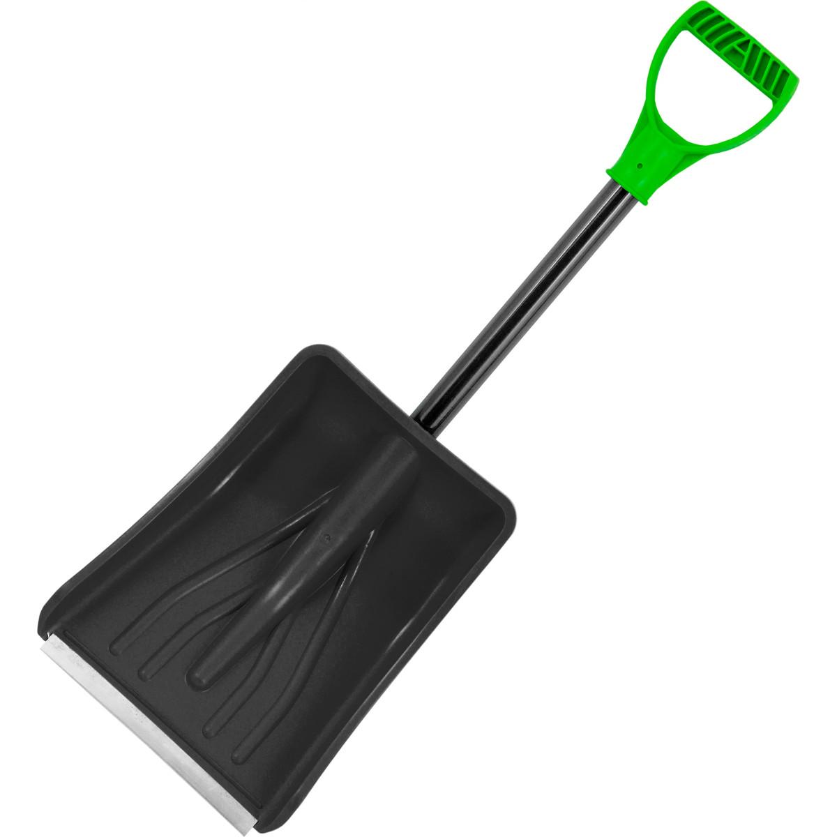 Лопата снеговая пластик Авто-про 365х250 см