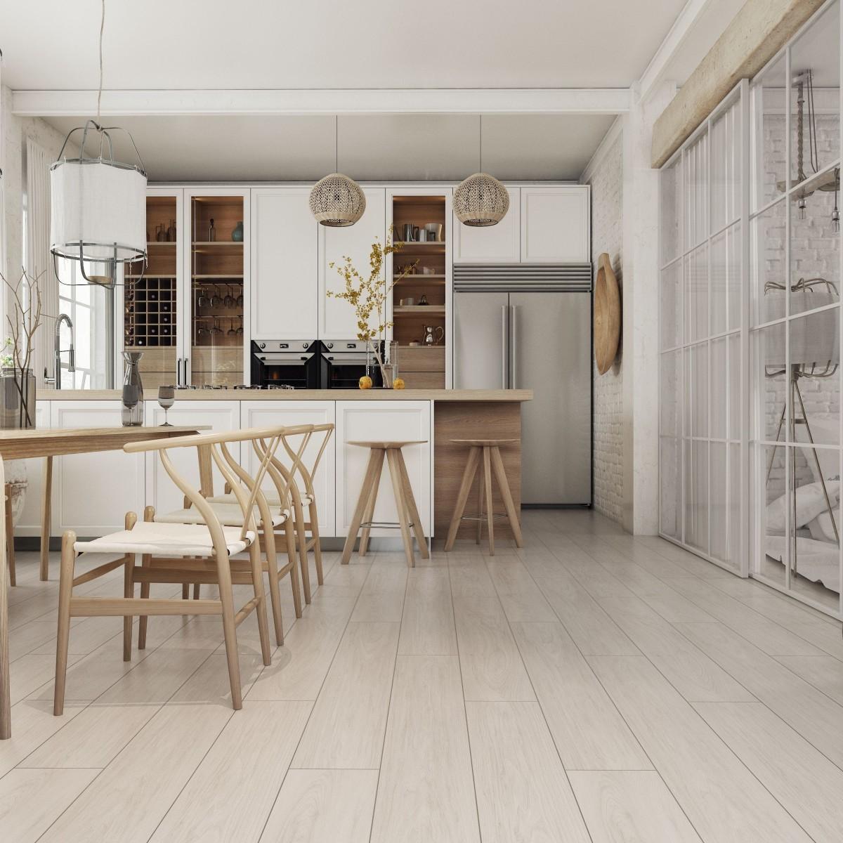Ламинат Дуб Айвори 33 класс толщина 12 мм 1.293 м²